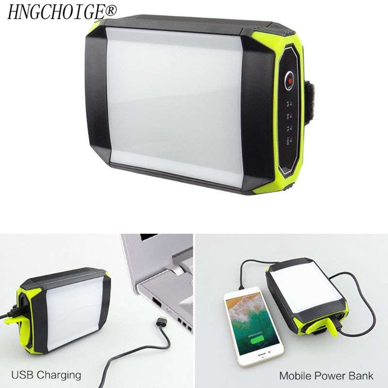 Outdoor Camping  Mobile Power Bank With USB Port Portable Hanging Lamp Tent Light