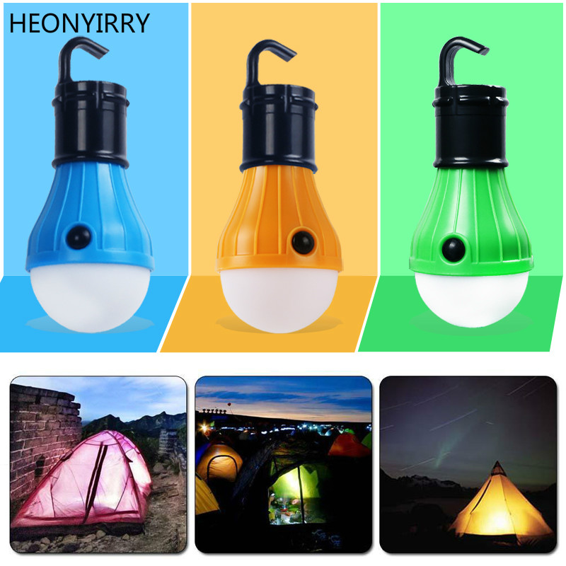 3 LEDs Outdoor Survival Tools Light Camping Tent Hanging Adventure Lantens Lamp,Portable LED Light Hunting Fishing Garden Lamp