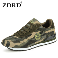 2016 New Arrival Men Casual Shoes Lightweight Camo Women Sports Shoes Lace Up Breathable Outdoor Lover
