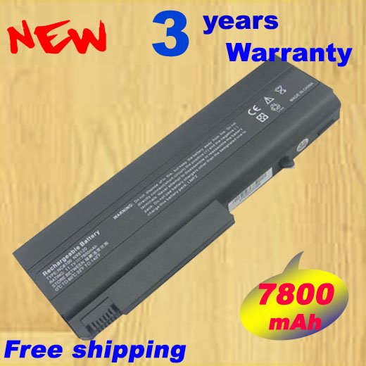 9 Cell 7800mAh Battery for <font><b>HP</b></font> <font><b>6510b</b></font> 6515b 6710b 6710s 6715b 6910p NC6100 NC6120 NC6200 NC6220 NC6400 NC6300 NC6320 NC6140 image