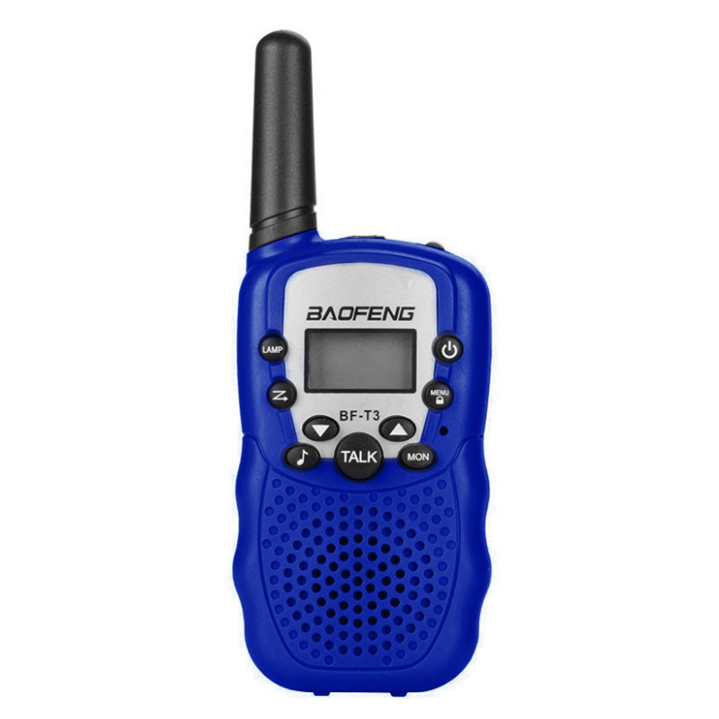 Portable Kids Walkie Talkie Electronic Toys <font><b>BF</b></font> - T3 Mini <font><b>Children</b></font> Walkie Talkie 10 Call Tones Radio Transceiver For Kids Gifts image