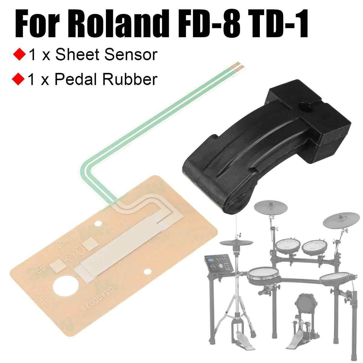 新しいシートセンサー + ペダルゴムアクチュエータは、ローランド FD,8 TD,1 ハイ帽子ペダルゴム部分ドラムアクセサリー