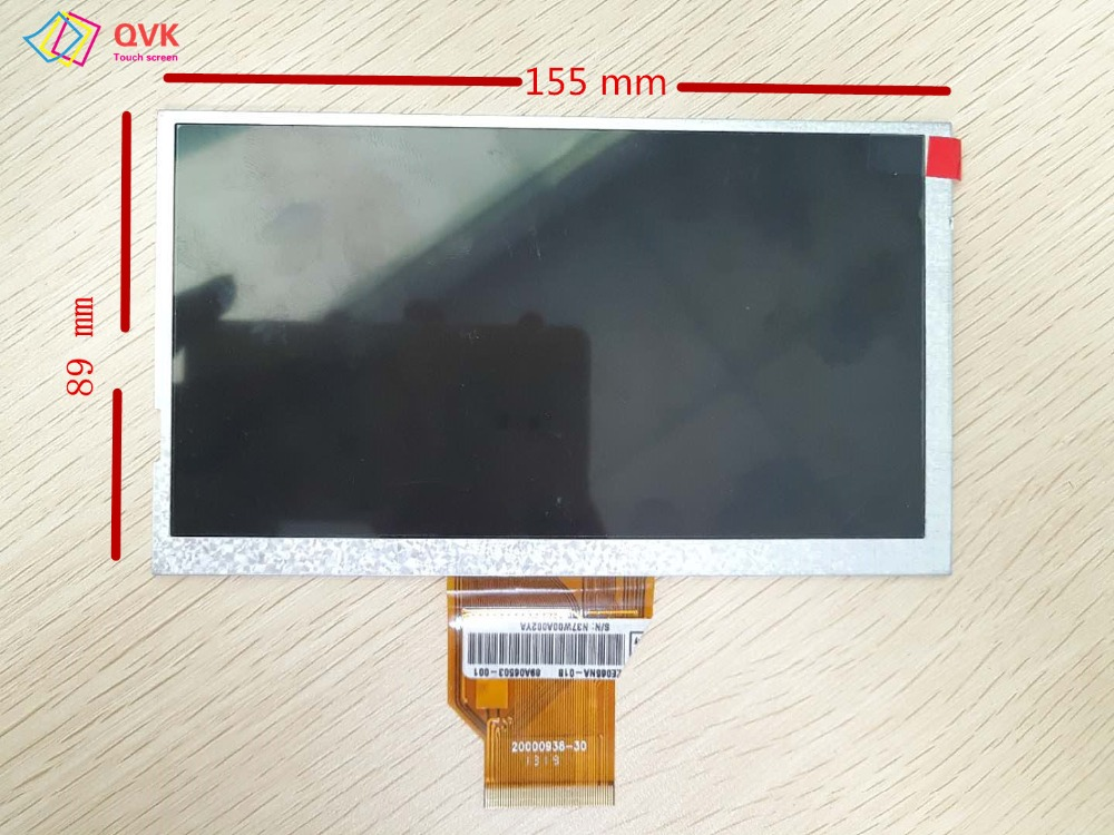 New P/N 20000938-30 1319 Tablet PC Display LCD Repair Replacement Parts Free Shipping S/N N37W00A002YA