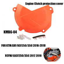 Motorcycle Engine Clutch protection cover for KTM 250 350 SXF XCF XCF-W EXC-F 2017-2018 Motocross Free shipping clutch cover protection cover water pump cover protector for ktm 350 exc f excf 2012 2013 2014 2015 2016