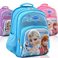 Disney niños/niños ortopédicos cartera de hombro mochilas escuela de la historieta bolsas de libros para las niñas de grado 1-4