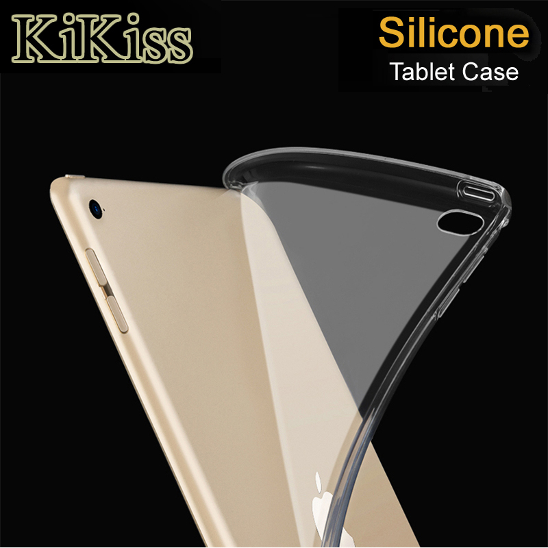 KiKiss Case For Apple <font><b>iPad</b></font> Air 2 5 6 <font><b>9.7</b></font> <font><b>2017</b></font> 2018 Tablet Silicone Cover Case For <font><b>Pro</b></font> <font><b>9.7</b></font> 10.5 11.0 12.9 2018 pad mini 5 4 3 2 1 image