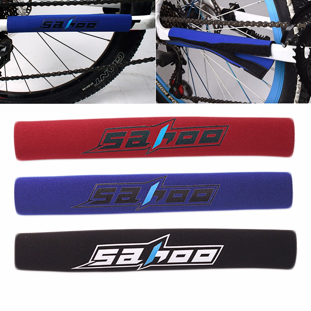 Bicycle Bike Chain Stay Frame Rear Fork Care Protector Guard Cover Pad D21