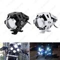 1pc Waterproof Motorcycle 125W U5 3000LM Motorbike Transformer Driving Spot Head Lamp Fog Headlight #CA2095