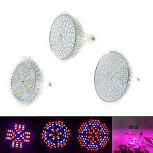 1pcs Full Spectrum Led Grow Light E27 48W 78W 120W Led Growing Lamp for Flower Plant Hydroponics System aquarium Led lighting