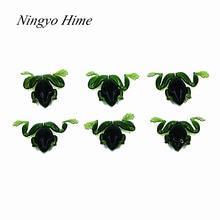 Ningyo Hime 6 Pcs/lot Frog Soft Bait Fishing Lures 2.5g 4cm High Quality Artificial Soft Bait Emulational Plastic Fish Soft Bass