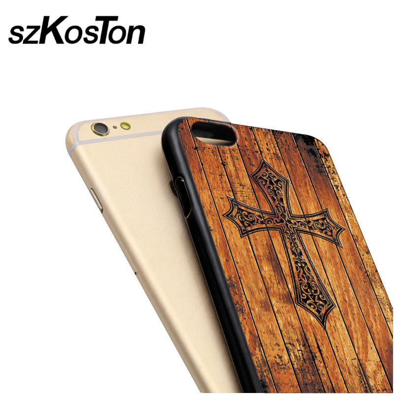 Mewah imitasi tinggi bambu kayu kasus telepon untuk iphone 5 5 s 6 6 - Aksesori dan suku cadang ponsel - Foto 2