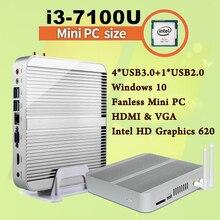 Mini PC [7e Gen Intel Core i3 7100U]4K HDMI&VGA 2017 Kaby Lac Best Windows 10 2.4 GHz HTPC Ordinateur Intel HD Graphics 620