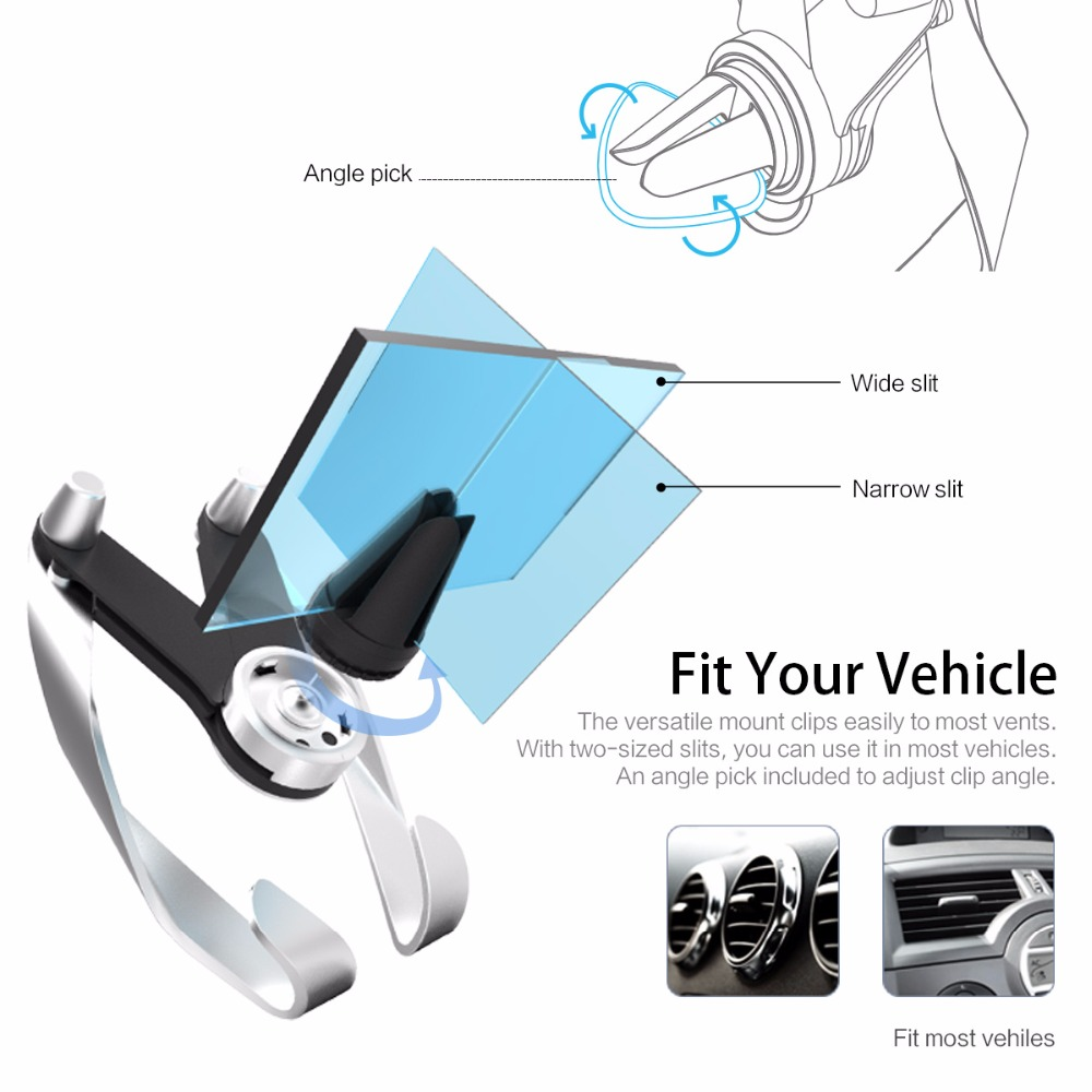 Aliexpress com buy rock autobot m mobile vent phone car holder for iphone samsung car abs material air outlet adjustable car phone stand from reliable