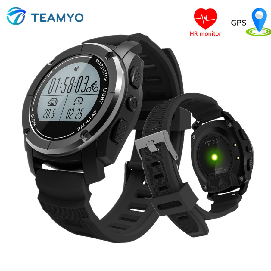 Sports Smartwatch S928 GPS Tracker Smart Watch Heart Rate Fitness Tracker Relogio Smart Outdoor Steps Thermometer Air Pressure fs08 gps smart watch mtk2503 ip68 waterproof bluetooth 4 0 heart rate fitness tracker multi mode sports monitoring smartwatch