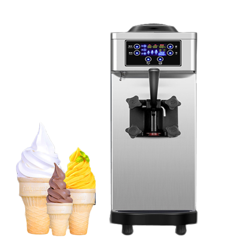 Commercial Flavor Cheap Price Soft Serve Frozen Yogurt Ice Cream Making Machine Soft Ice Cream Machine For Sale eu popular soft serve ice cream maker machine desk top ice cream machine for sale