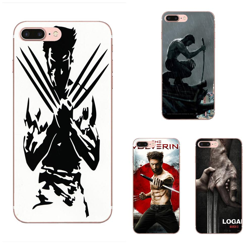 TPU Original Wolverine Marvel Novelty Fundas For Galaxy J1 J2 J3 J330 J4 J5 J6 J7 J730 J8 2015 <font><b>2016</b></font> 2017 2018 mini Pro image