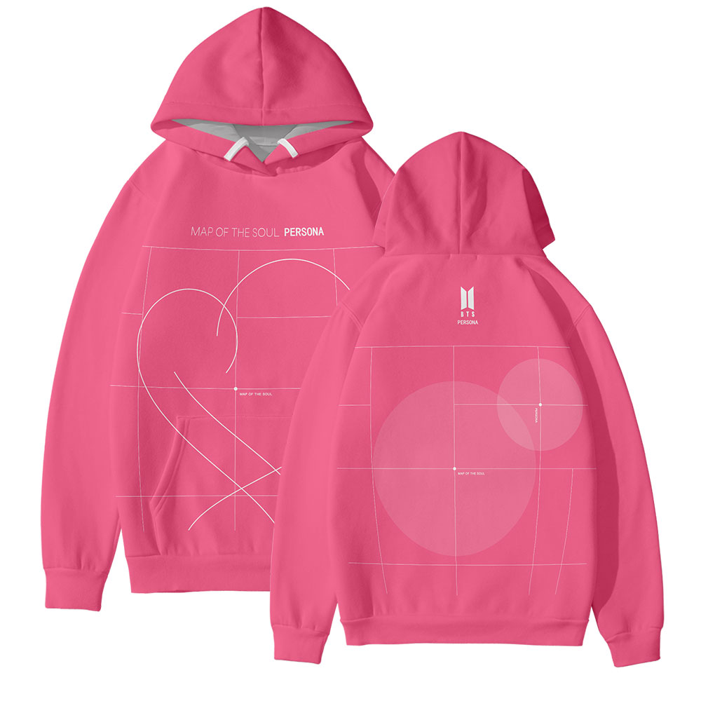 Hoodies KPOP NEW Album Map Of The Soul:Persona Album3D Print 2019 New Harajuku Soft Sweatshirts Hoodies Cool Accessories
