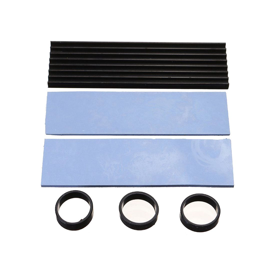 Heat Sink Dissipation Aluminum Cooling For SM961 960PRO M.2 NGFF NVMe 2280 SSD jeyi cooling warship copper m 2 heatsink nvme heat sink ngff m 2 2280 aluminum sheet thermal conductivity silicon wafer cooling