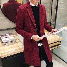 Free Shipping 2017 The Man In The Long Winter Coat font b Sweater b font Coat