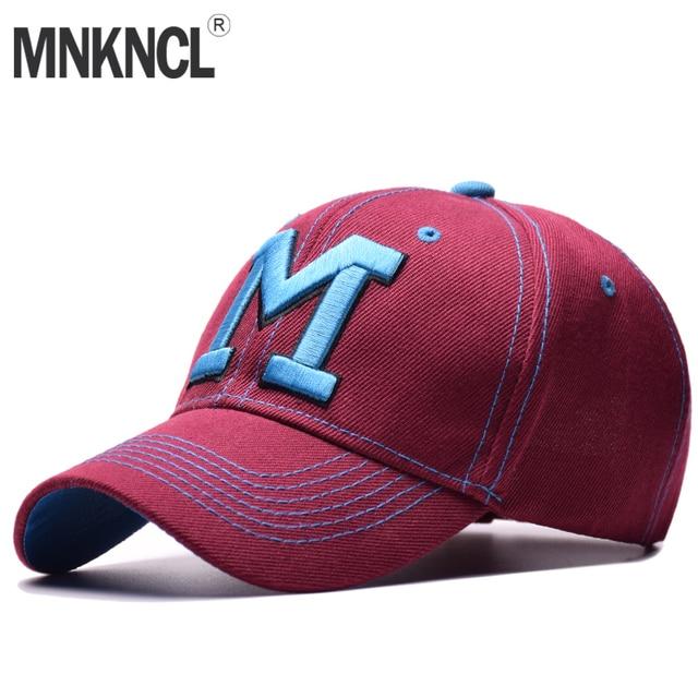 e80a858e942 MNKNCL 2018 New Spring Baseball Cap For Women Snapback Hats Men Casquette  Casual Cap Bone Cotton Hat For Men Women Caps