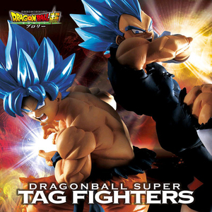 Tronzo Banpresto Original Dragon Ball Super Movie Broly TAG Fighters Goku Vegeta SSJ Blue Hair PVC Action Figure Model Doll Toys(China)
