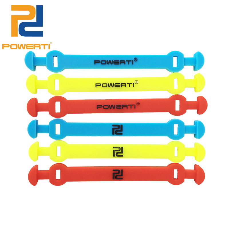 POWERTI 50pcs / lot סיליקון גומי טניס רטט Dampener - מחבטים