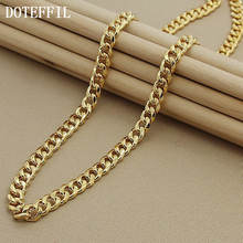1pcs Free Shipping Men's Jewelry Necklace 24K Gold Necklace Classic Sideways Necklace For Men Factory Direct 1pcs lot flm0910 25f flm0910 flm good qualtity hot sell free shipping buy it direct