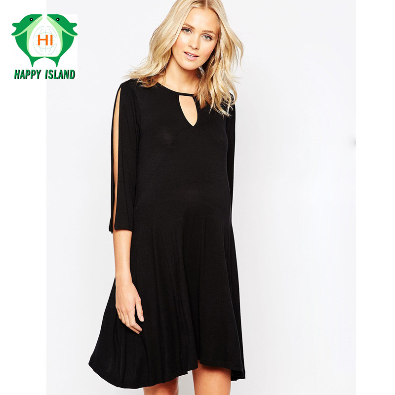 Easter Gift Brand Maternity Clothes Plus Size Maternity Dress Pregnant Women Evening Party Dress Elegant Summer
