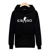 CS GO Black And Gray High Quality Sweatshirts Winter Spring Hoodies Men Brand Designer Mens Sweatshirt