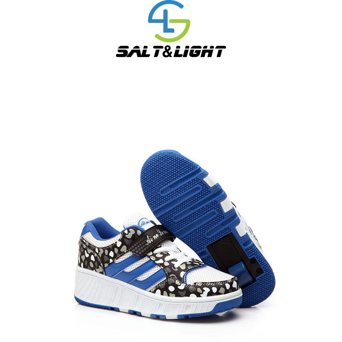 Roller shoes shop - New 2016 Hot Children Wheeled Girls Boys Roller Shoes With Two Wheels Roller Skate Trainers Kids Fashion Sneakers Size