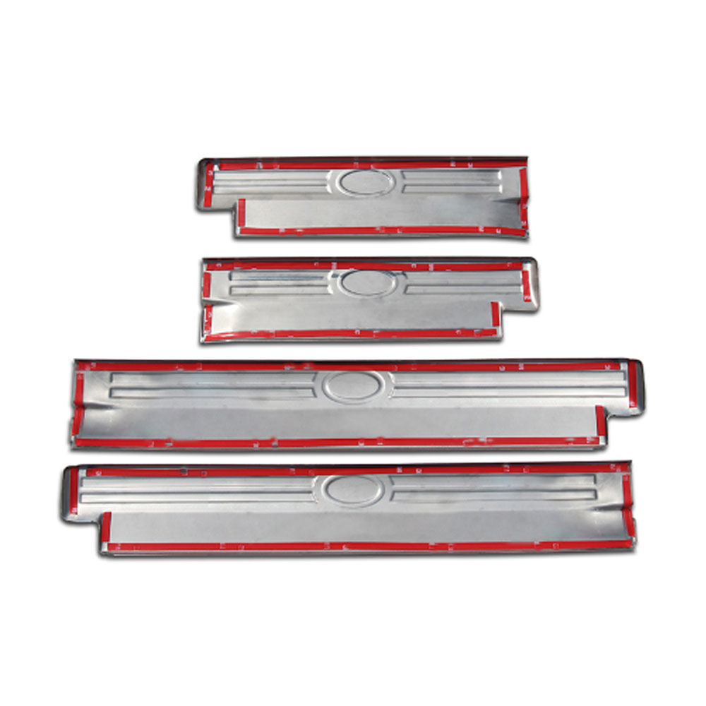 entrepreneur.cd Steel Door Sill Scuff Plates Cover Trim For Land ...