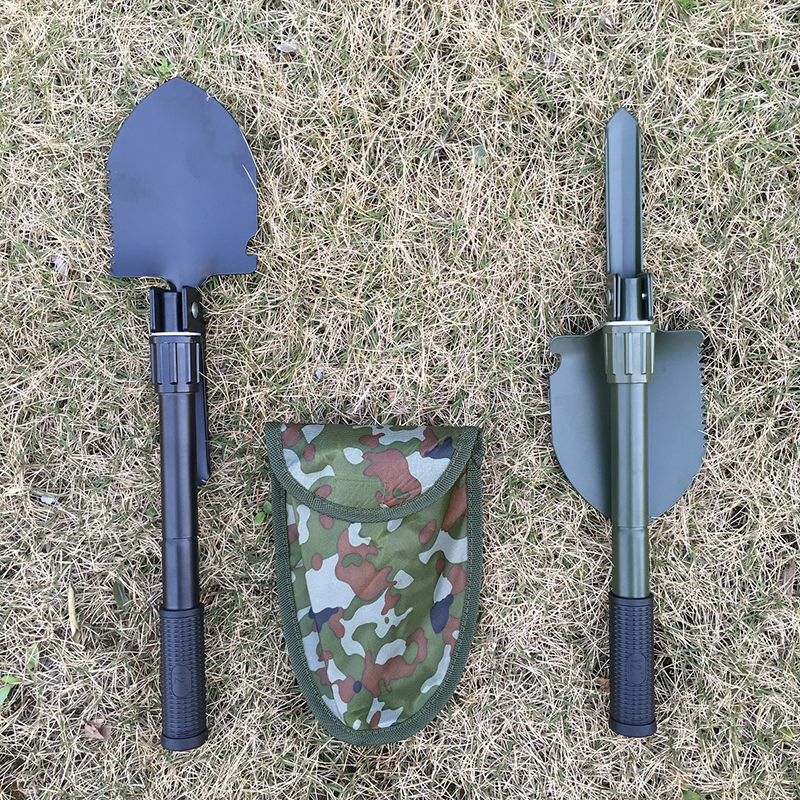 Foldable portable tool shovel fishing multi purpose equipment outdoor camping multi purpose folding gardening planting shovel in Outdoor Tools from Sports Entertainment