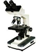 40X 100X 400X 1000X Professionelle Verbindung Biologischen Binokular mit Integrierte Lichtquelle-in Mikroskope aus Werkzeug bei