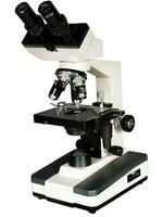 Microscopio Binocular biológico compuesto profesional 40X 100X 400X 1000X con fuente de luz integrada binocular microscope compound binocular microscopemicroscope microscope -