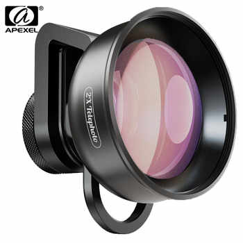 APEXEL HD 2X Telephoto Zoom Phone Camera Lens 4K Telescope Lens With CPL Star Filter For Huawei Samsung iPhone All Smartphone - DISCOUNT ITEM  33% OFF All Category