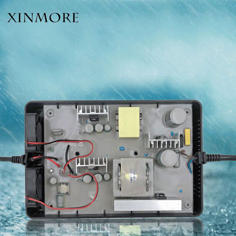 New Arrival Waterproof AC DC 58.8V 5A 4A 3A Lithium Battery Charger For 48V (51.8V) E bikeo Battery