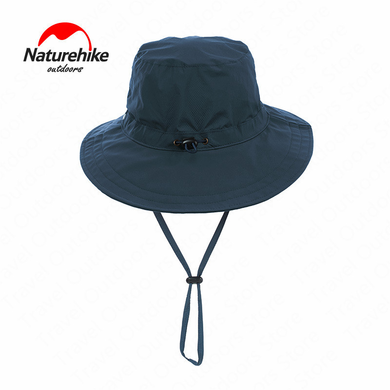 Naturehike Fishing Hat Summer UV-Protective Hiking Hat Breathable Quick-drying Folding Hat Outdoor Travel Hiking Rain Hat