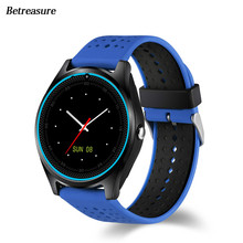 Betreasure BW25 Bluetooth Smart Watch Clock Fitness Smart Watches With Camera SIM/32G TF Card Smartwatch For Android IOS