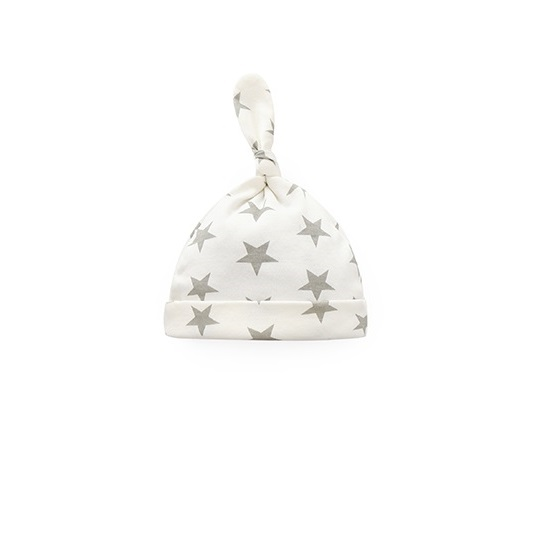 Grey Stars Hat