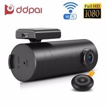 DDPai mini WiFi Car DVR 1080P FHD Night Vision Dash Cam Recorder Rotatable Lens Car Camera Wireless Snapshot Auto Camcorder