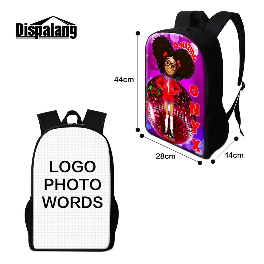 Customized Multi Function School Backpack Travel Laptop Daypack Messenger Lady Bag Design You Own Logo Picture On Luggage
