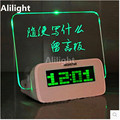 Creative Novelty Projection Table Lamp Night Light Practical Table Message Board Music Alarm Clock Table Light Bedside Lamp