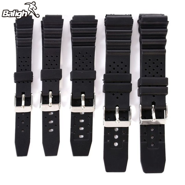 12-22mm Watch Bands Strap Butterfly Pattern Deployant Clasp Buckle Fashion Leath