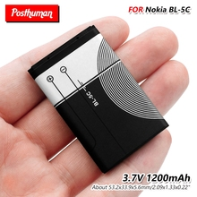 Высокое качество BL5C 1200 мА/ч, литий BL-5C BL 5C телефон Батарея Замена для 6680 6681 6682 7600 7610 N70 N71 N72 N91 3105 3120