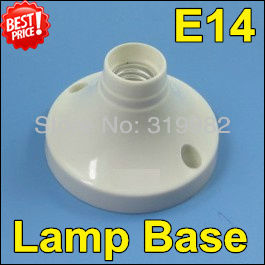 10 шт./партия, E14 Монтажный держатель для лампы E14 светодиодный держатель для свечи с винтом