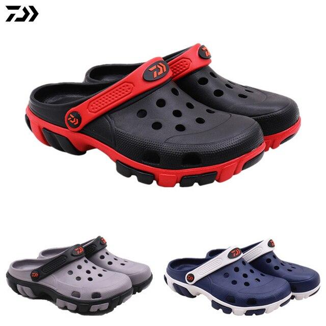 7a1f9cb30d50 DAIWA DAWA Men Summer Beach Sandals Non Slip Garden Clogs Lightweight Fishing  Shoes Breathable Sandals Quick Drying Water Shoe