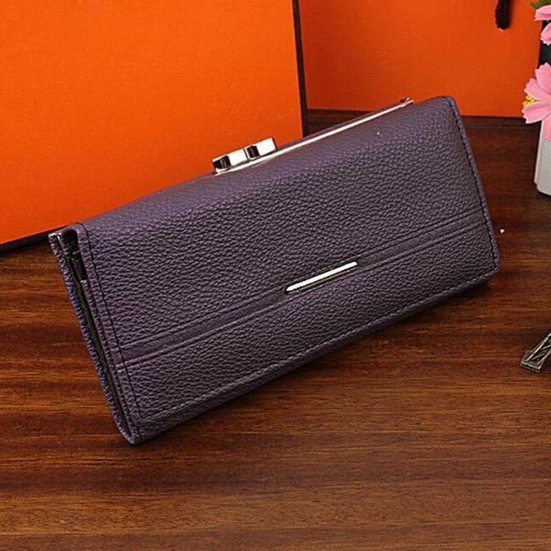 SAF Wallet Women s Wallet Clutch Long Design Clip Wallet Long Wallets Coin  Purse Bag purple-in Wallets from Luggage   Bags on Aliexpress.com  70ca607280550