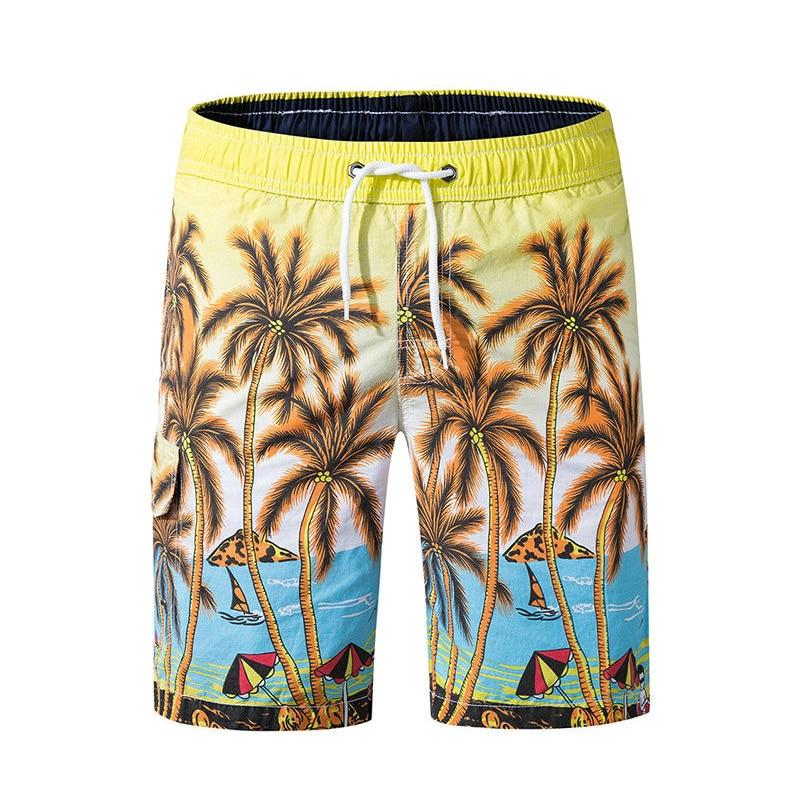 2019 Summer Hot Men Beach   Shorts   Quick Dry Printing   Board     Shorts   Men Bermuda Masculina Drop Shipping ABZ249
