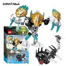 Smartable BIONICLE 58pcs Melum Creature of Ice Figures 609 6 Building Block Toys For Boy Compatible
