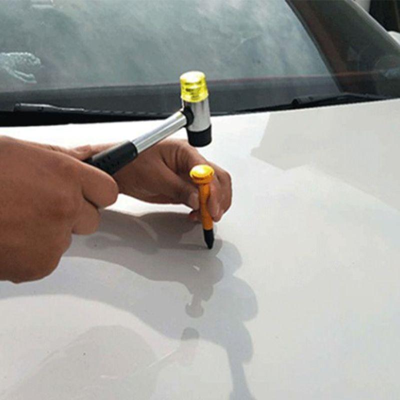 Image 2 - 2019 Новый безболезненный автомобиль вмятин ремонт град удаление Инструменты комплект кран вниз ручка с 9 головные инструменты
